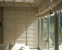 Motorised Pinoleum Conservatory Blinds