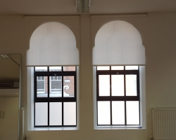 Roller Blinds to fit Arched Alcove