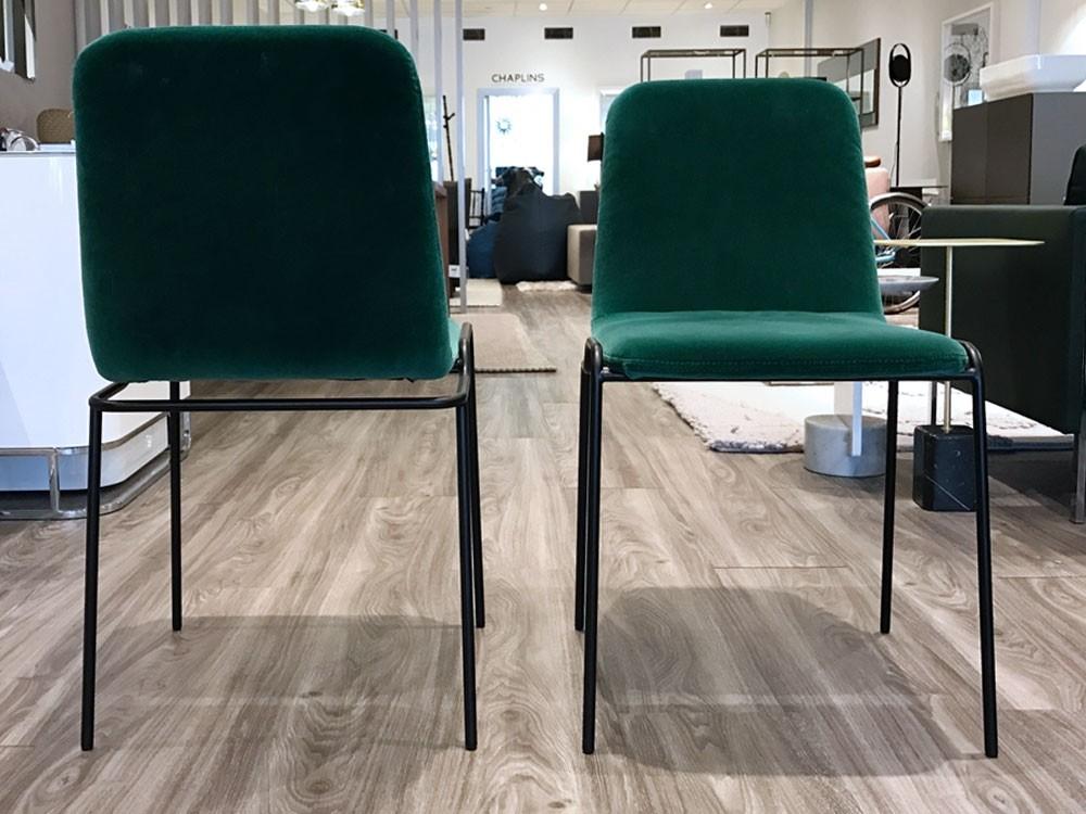 Set Of 2 Ligne Roset Tadao Chairs By Eric Jourdan |