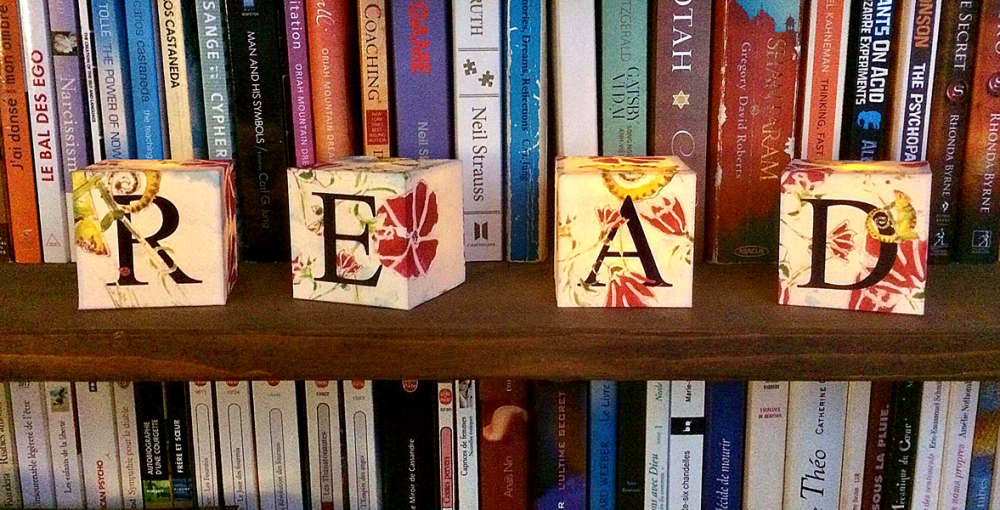 Glowing loose cubes made-to-order in  any letters