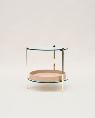 Ghyczy T79 Red Side Table With Tray