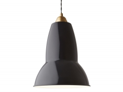 Anglepoise Original 1227 Maxi Brass Pendant Light - SOLD