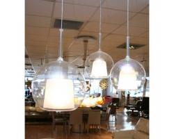 Penta Glo Pendant Lights by Carlo Columbo