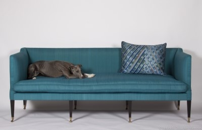 Temple House Sofa by Virginia White