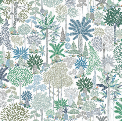 Clea Fabric & Wallpaper by Virginia White