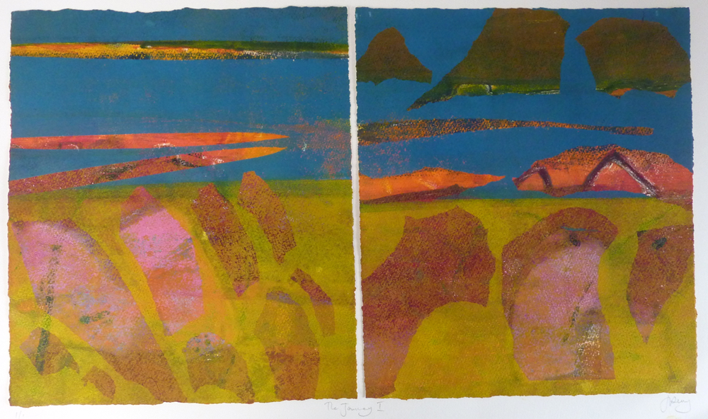 Diptych - The Journey I