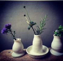 Porcelain Bud Vases