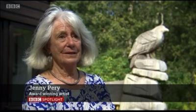 BBC Spotlight September 2021  Jenny Pery Receives Art Award for her Monotypes
