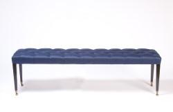 Georgian Bench Blue