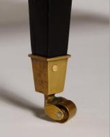 Robin Side Table in Ebony Leg Detail