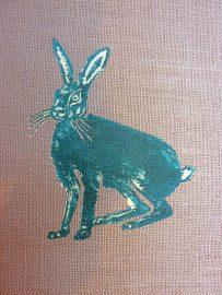 Els Marleyn Hare Print Lino