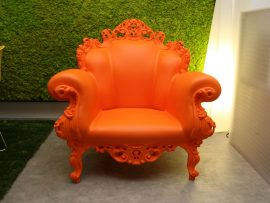 Proust Outdoor Orange Armchair