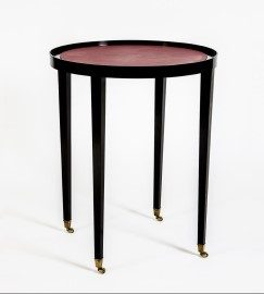 Robin Side Table in Ebony