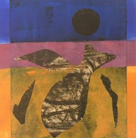 The Dive monotype by Jenny Pery